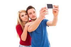 Young beautiful couple Stock Photos