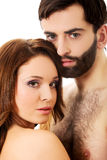 Young beautiful couple. Royalty Free Stock Images