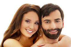 Young beautiful couple. Stock Photography