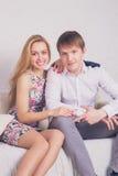 Young beautiful couple Stock Photo