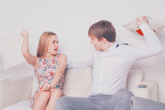 Young beautiful couple Royalty Free Stock Photo