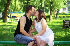Young beautiful couple. Royalty Free Stock Photo