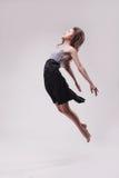 Young beautiful dancer in dansing dress posing Royalty Free Stock Photography