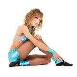 Young beautiful dancer posing Royalty Free Stock Photos
