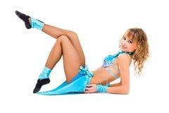 Young beautiful dancer posing Stock Photo