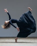 Young beautiful dancer posing in studio Royalty Free Stock Image