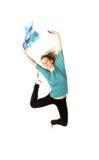 Young beautiful dancer posing Stock Images