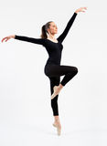 Young beautiful dancer Stock Images