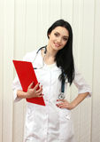 Young beautiful doctor Stock Photography