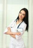 Young beautiful doctor Stock Photos