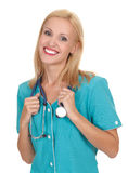 Young beautiful doctor Stock Image