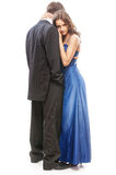 Young beautiful elegant couple Stock Photos