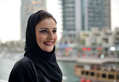 Young and beautiful Emirati woman Royalty Free Stock Photos
