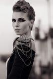 Young beautiful fashion model Stock Image