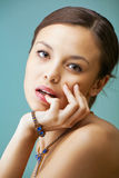 Young beautiful female Royalty Free Stock Image