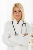 Young Beautiful Female Doctor Stock Photos