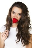 Young beautiful female Royalty Free Stock Images