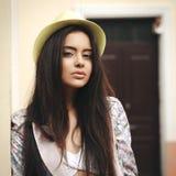 Young beautiful female model Stock Image