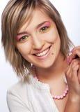 Young beautiful female teenager Stock Photo