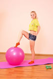 Young beautiful fitness girl Royalty Free Stock Photo