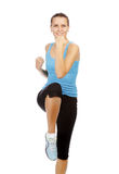 Young beautiful fitness woman Royalty Free Stock Photo