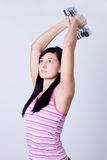 Young beautiful fitness woman Stock Image