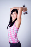 Young beautiful fitness woman Stock Photography