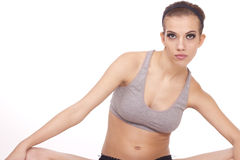 Young beautiful fitness woman Royalty Free Stock Photography