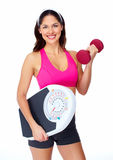 Young beautiful fitness woman. Royalty Free Stock Photography