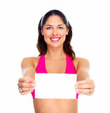 Young beautiful fitness woman. Royalty Free Stock Image