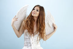 White Angel Royalty Free Stock Photos