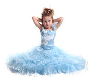 The young beautiful girl Royalty Free Stock Photo