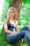 Young beautiful girl. Royalty Free Stock Photos
