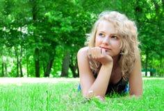 Young beautiful girl. Stock Photos