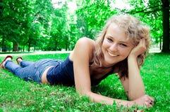 Young beautiful girl. Stock Image
