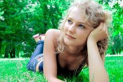 Young beautiful girl. Stock Photography