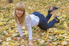 Young beautiful girl Stock Image