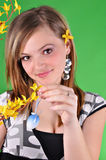 Young beautiful girl Stock Photos