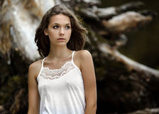 Young beautiful  girl Royalty Free Stock Images