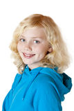Young beautiful girl / child smiles happy Stock Image