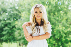 Young and beautiful girl Royalty Free Stock Image