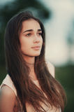 Young beautiful girl portrait Royalty Free Stock Photography
