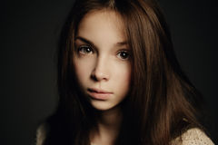 Young beautiful girl portrait Royalty Free Stock Photo