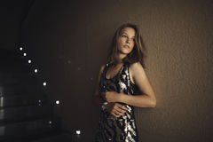 Young beautiful girl posing Royalty Free Stock Photography