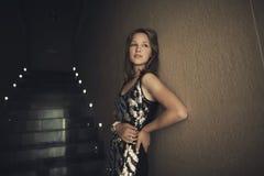 Young beautiful girl posing Stock Photos