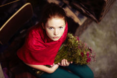 Young beautiful girl Royalty Free Stock Photography