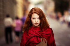 Young beautiful girl Royalty Free Stock Photo