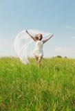 Spring Girl Stock Photography