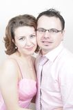 Young Beautiful Happy Couple Smiling Royalty Free Stock Image