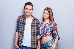 Young and beautiful. Royalty Free Stock Photo